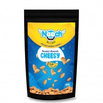 NAACH- CHEESE ROASTED ALMONDS 200GM