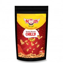 NAACH- CHILLI ROASTED ALMONDS 200G