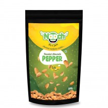 NAACH- PEPPER ROASTED ALMONDS 200G