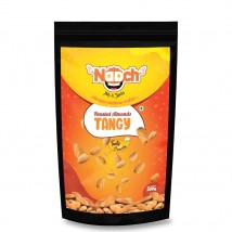 NAACH- TANGY ROASTED ALMONDS 200G