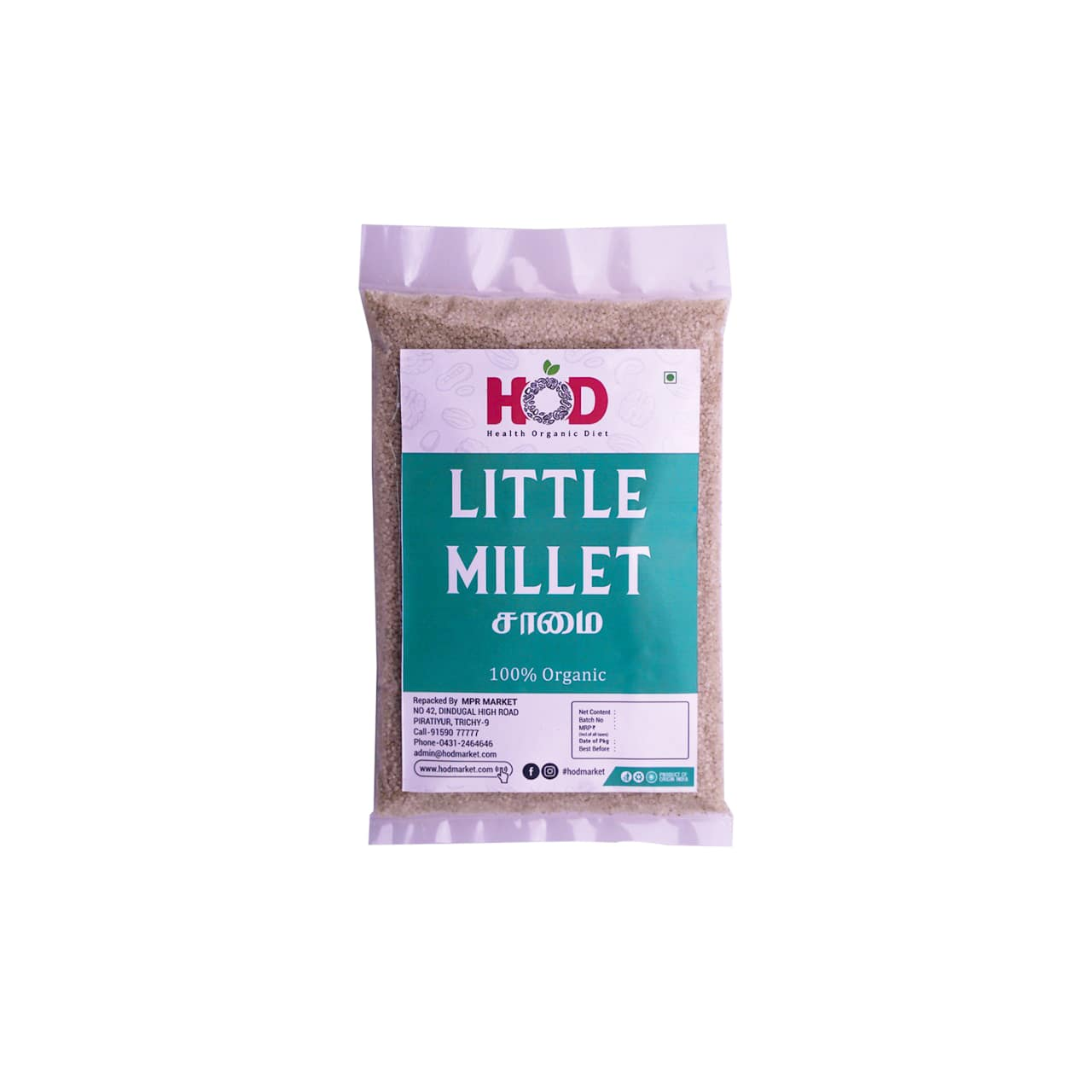 HOD- LITTLE MILLET/SAMAI