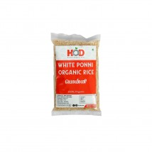 HOD- WHITE PONNI ORGANIC RICE/PONNI 1KG