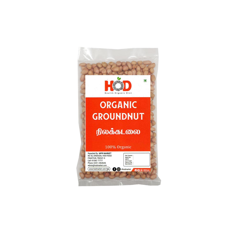 HOD- ORGANIC GROUNDNUT SEED/NILAKADALAI 500G
